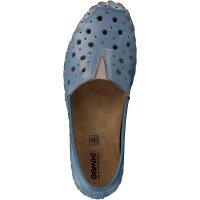 Gemini Damen Slipper blau