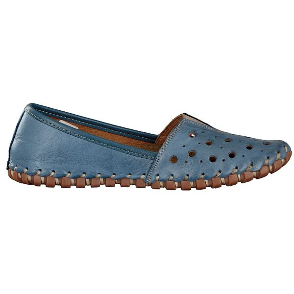 Gemini Damen Slipper blau