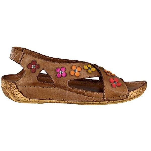 Gemini women sandal brown