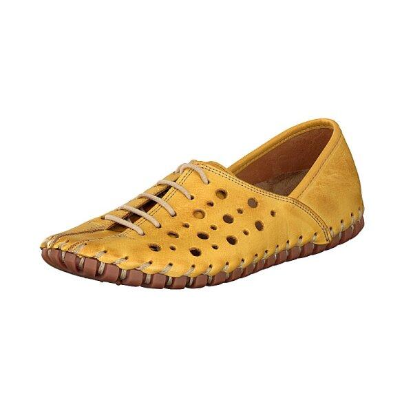 Gemini Damen Schnürschuh gelb