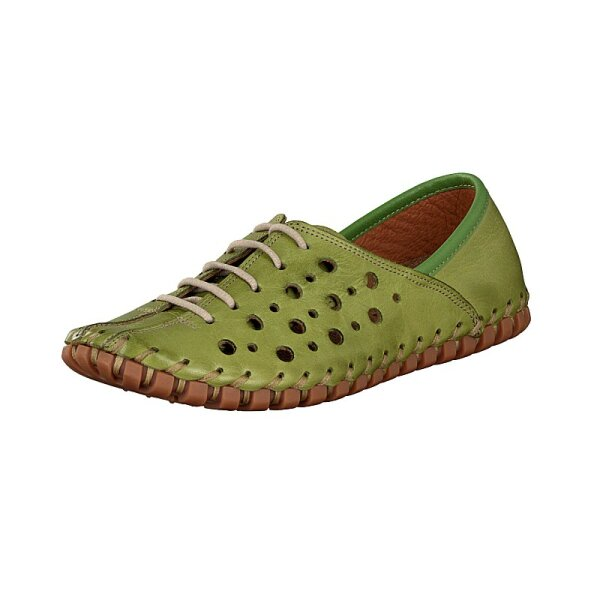 Gemini Damen Schnürschuh grün