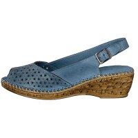 Gemini Damen Sandalette blau