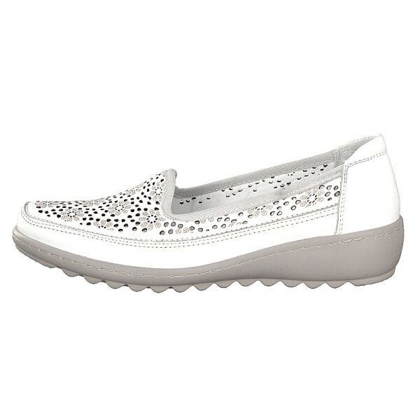 Gemini Damen Slipper weiß