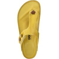 Gemini Damen Pantolette gelb 36