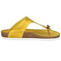 Gemini Damen Pantolette gelb 42