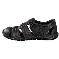 Gemini Herren Sandale schwarz 45