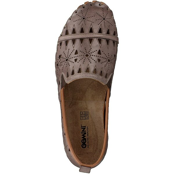 Gemini Damen Slipper taupe