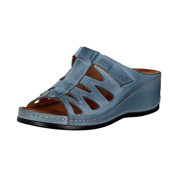 Gemini Damen Pantolette blau 42