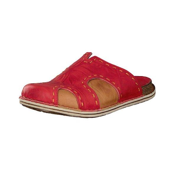 Gemini Damen Pantolette rot