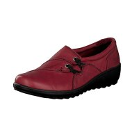 Gemini Damen Slipper rot