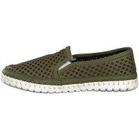 Gemini women slip-on shoe green