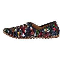 Gemini women lace-up shoe black