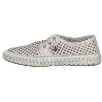 Gemini women lace-up shoe white