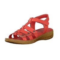 Gemini Damen Sandale rot