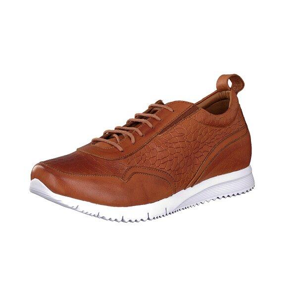 Gemini women lace-up shoe brown
