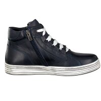 Gemini women lace-up boot blue
