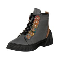 Gemini women lace-up boot grey