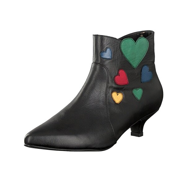 Gemini women ankle boot black