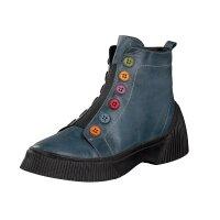 Gemini women boot blue