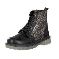 Gemini women lace-up boot black
