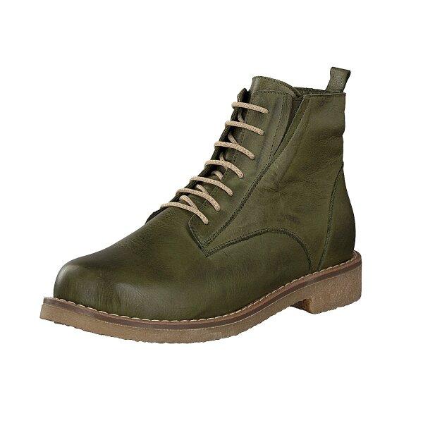 Gemini women lace-up boot green