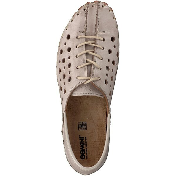 Gemini women lace-up shoe taupe